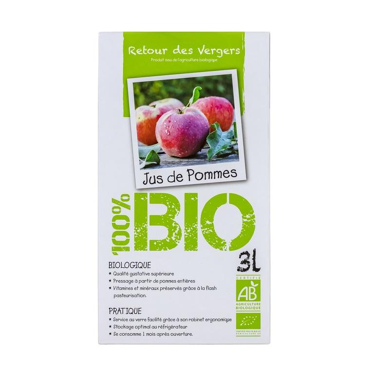 Jus de pommes Bio 3 L 343269