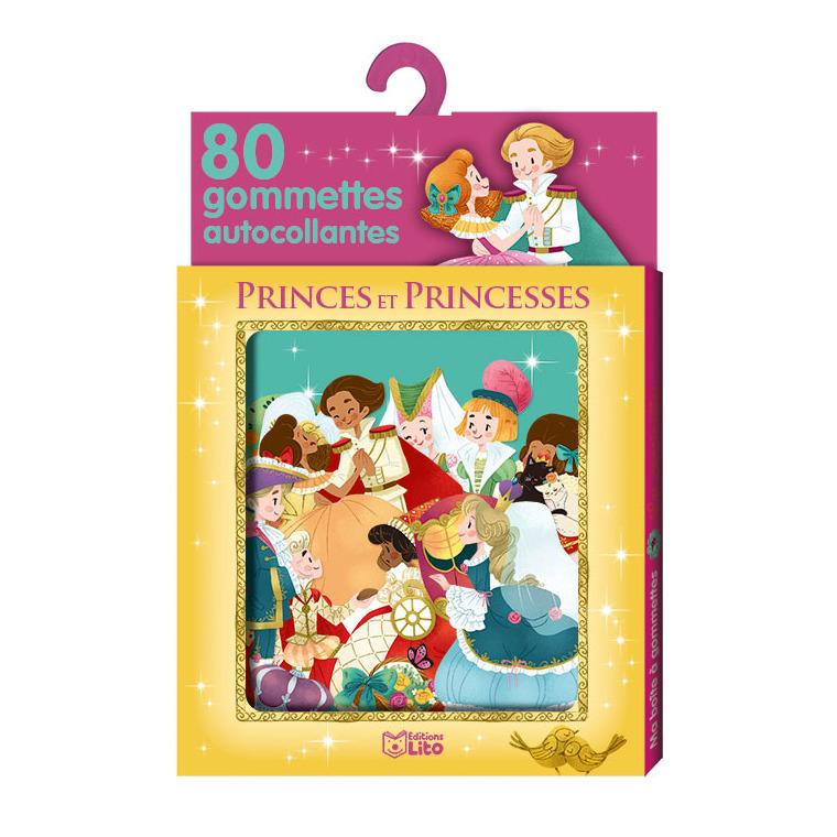 Princes et Princesses Ma Boîte à Gommettes 3 ans Éditions Lito 343637