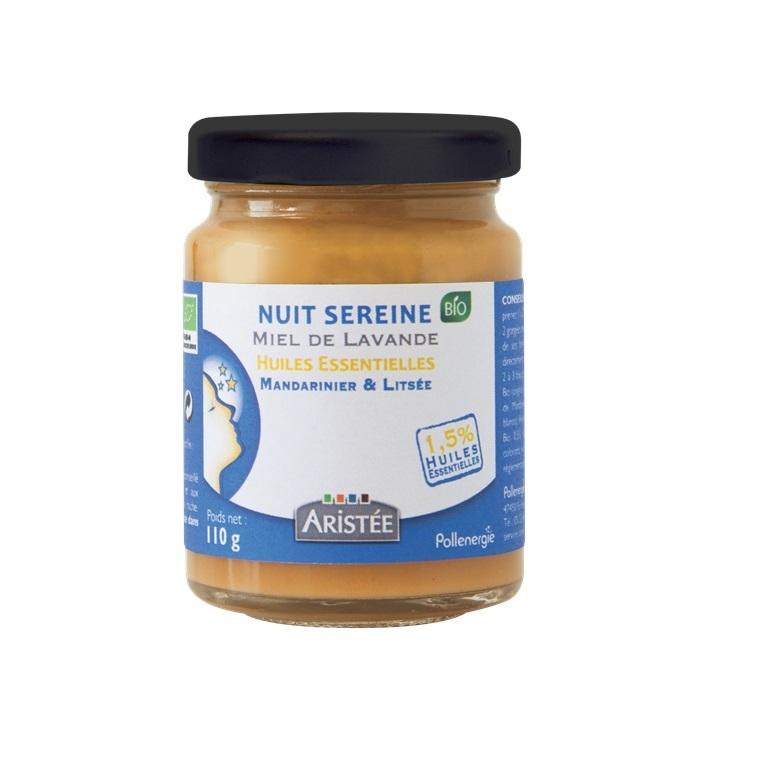 Miel essentiel nuit sereine bio en pot de 110 g 344406