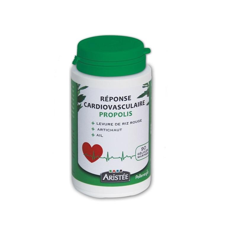 Complément alimentaire réponse cardiovasculaire bio boite 90 gélules 344421