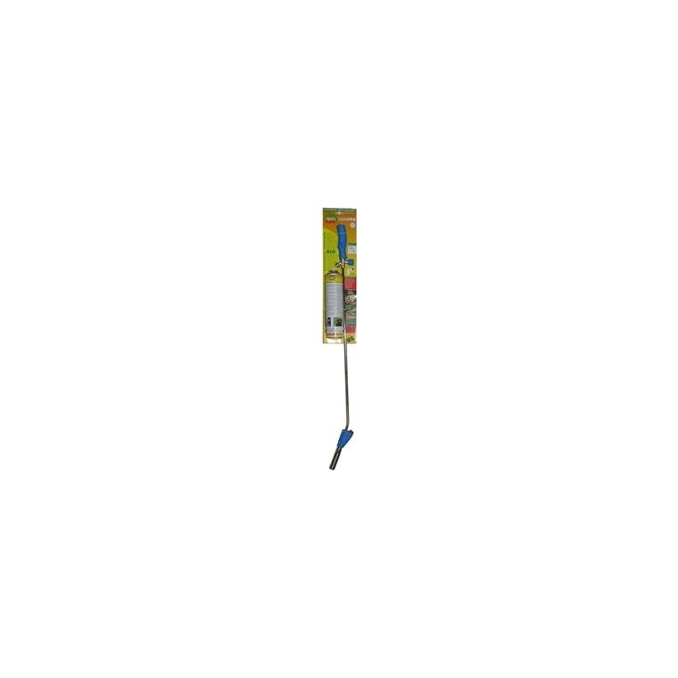Désherbeur thermique canne pro bleu acier et PVC 100 cm 345230