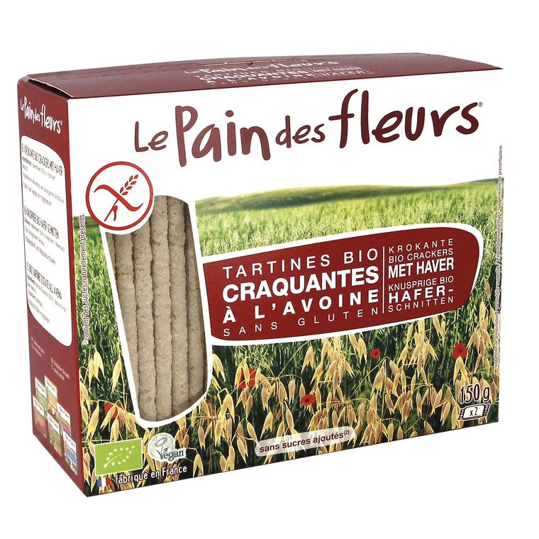 Tartines d'avoine bio en étui de 150 g 349339