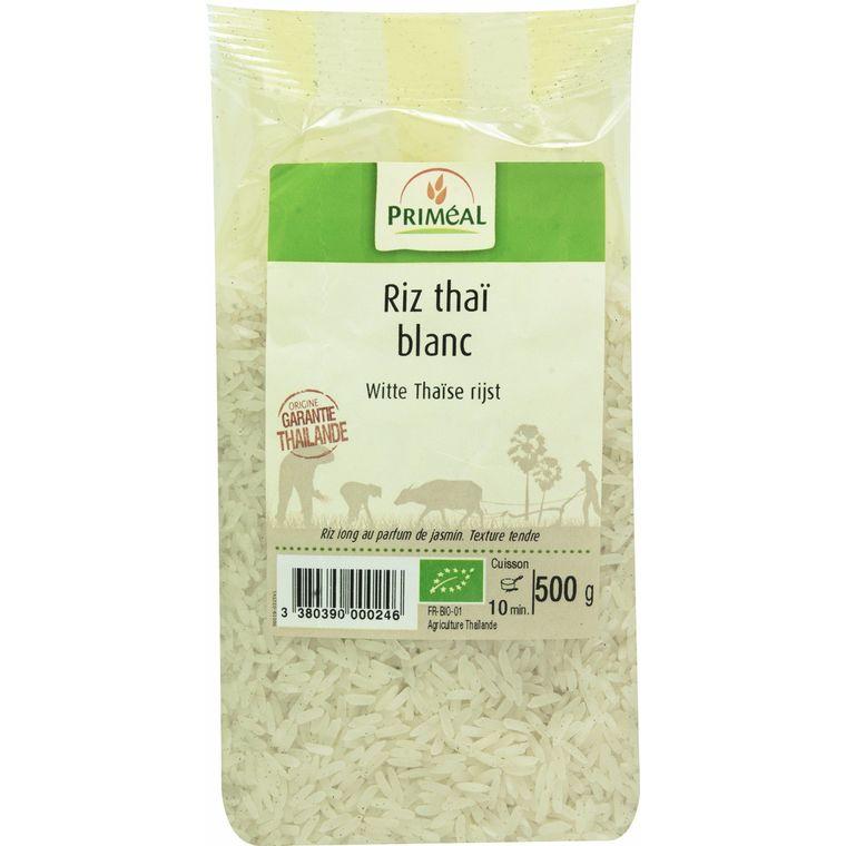 Riz thaï blanc bio en sachet de 500 g 349391