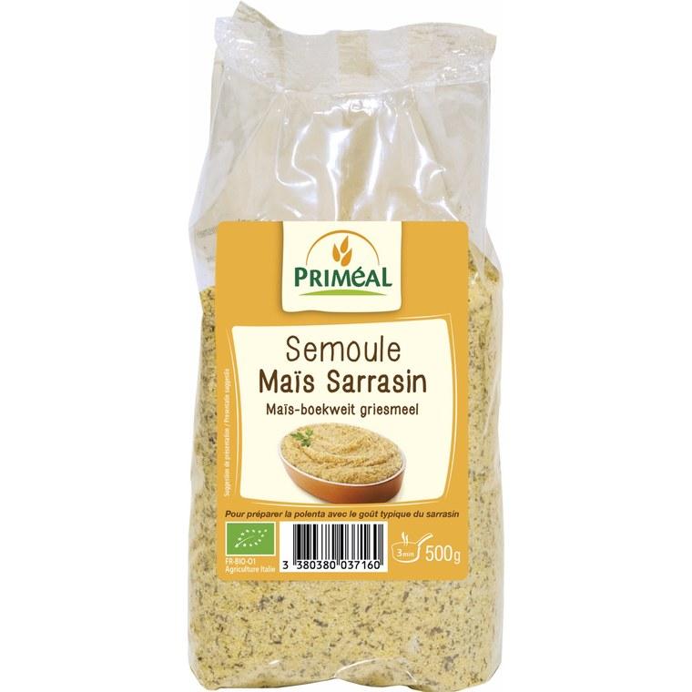 Semoule de maïs au sarrasin bio en sachet de 500 g 349418