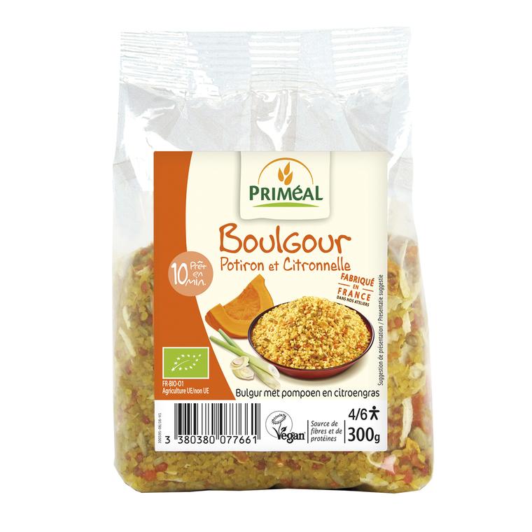Boulgour potiron et citronnelle bio en sachet de 300 g 349426