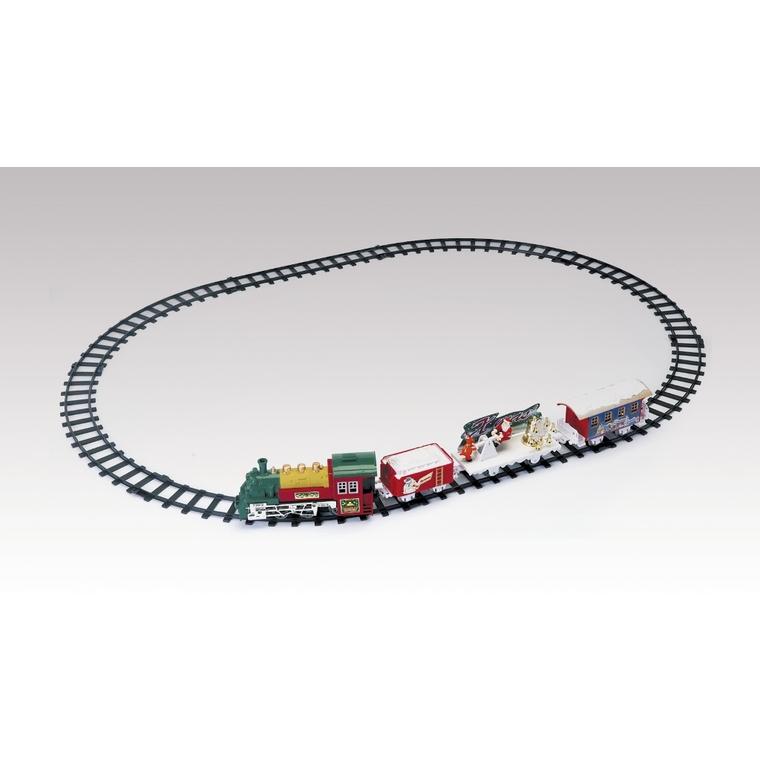 Train miniature Holiday Express de Noël, multicolore 352238