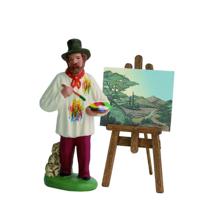 Peintre provençal 7 cm 352432