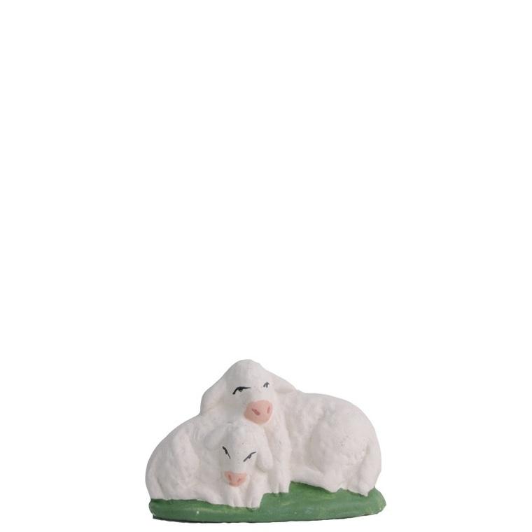 Couple d'agneaux 3 cm 352444