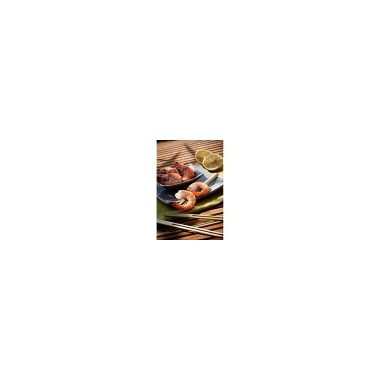 Pics doubles 19 cm en bambou 35378