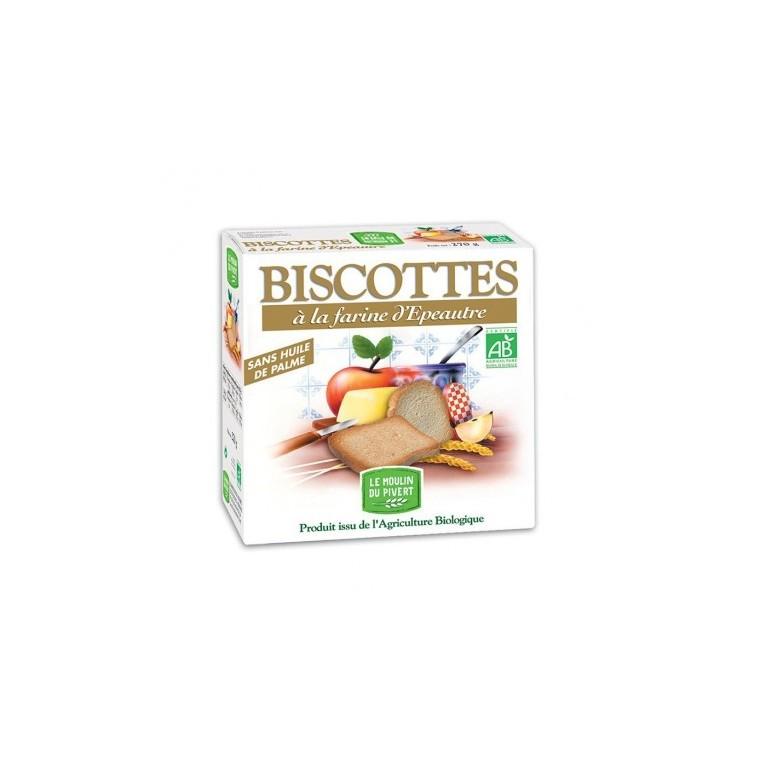 Biscottes épeautre Bio - 270 g 354723