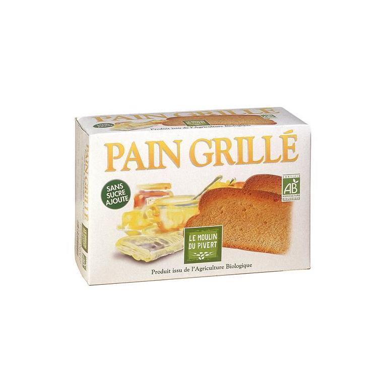 Pain grillé bio 250 g 354736