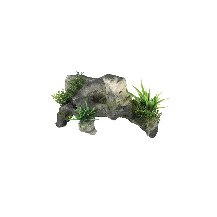Décoration aquarium pierre diffuseur