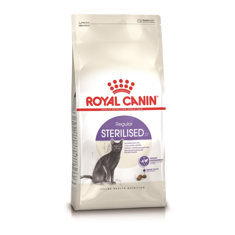 Croquettes Royal Canin Sterilised37 400 g 354856