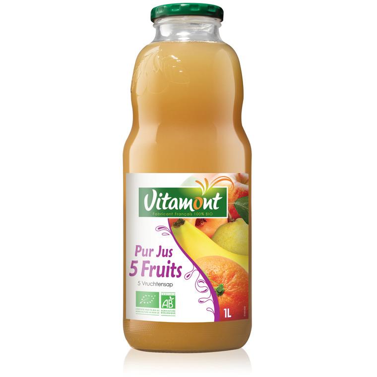 Cocktail bio 5 fruits - 1 L 354931