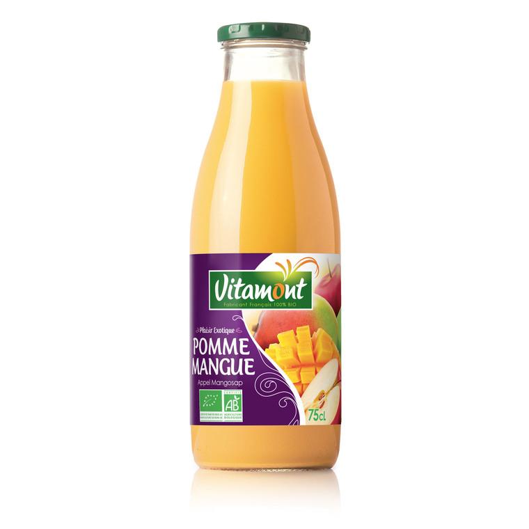 Cocktail pomme mangue bio - 75 cl 354935