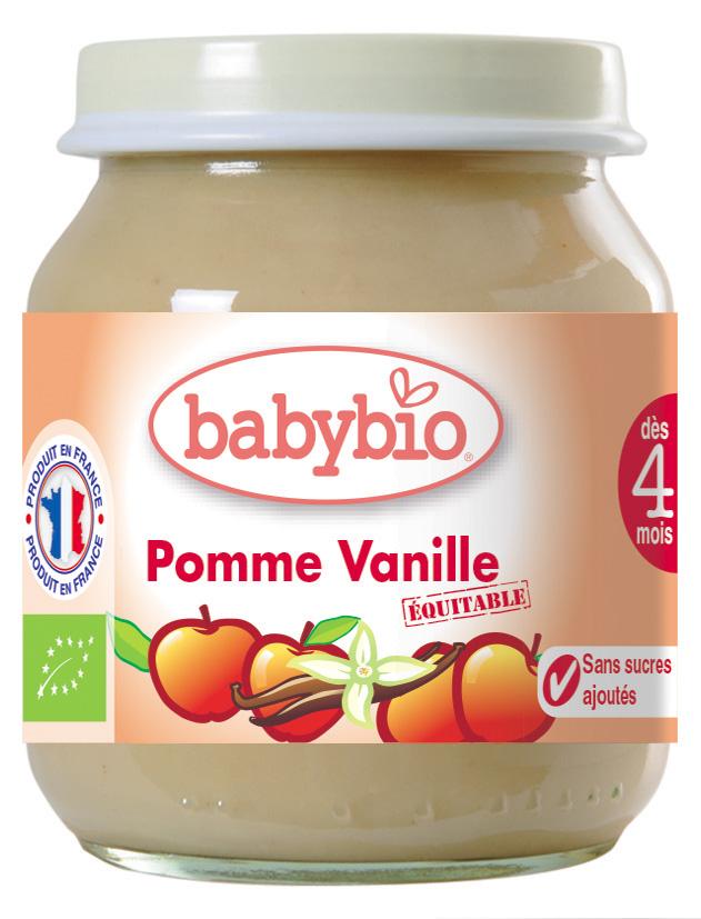 Ppot pomme-vanille bio 355073