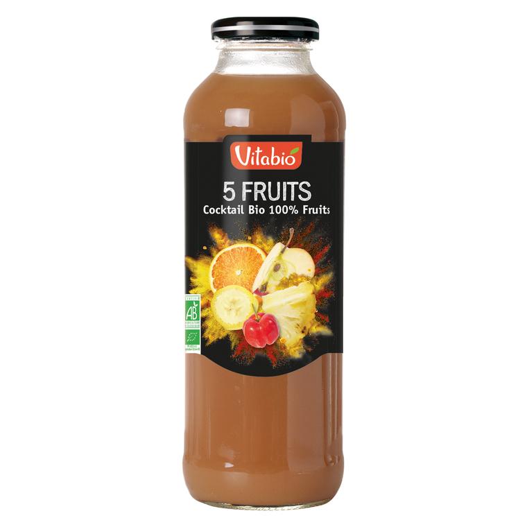 Cocktail bio fruits jaunes 50 cl