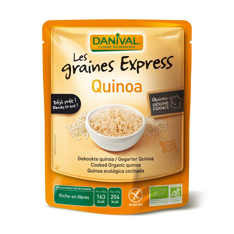 Quinoa bio Express DANIVAL 250 g 355138