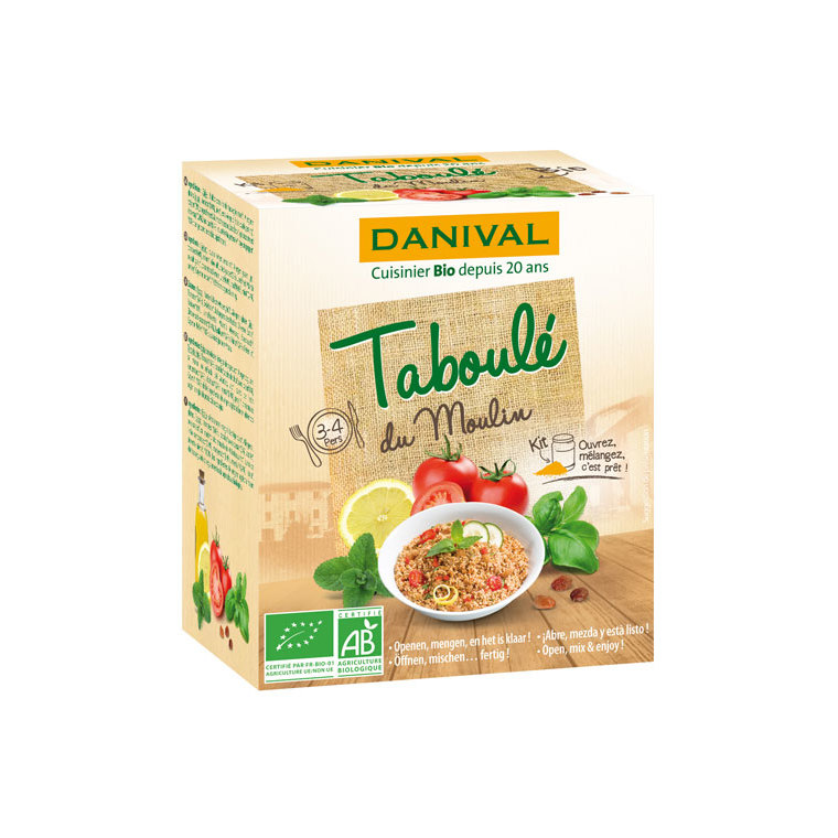 Taboulé du moulin DANIVAL 120 g + 500 g 355144