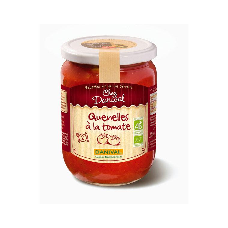 Quenelles à la tomate bio DANIVAL 490 g 355158