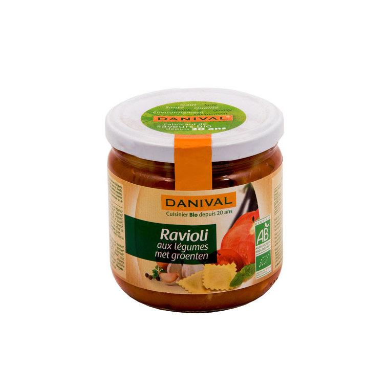 Raviolis légumes bio 360 g DANIVAL 355161