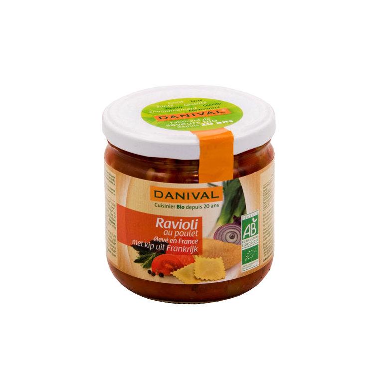Raviolis bio poulet DANIVAL 360 g 355162