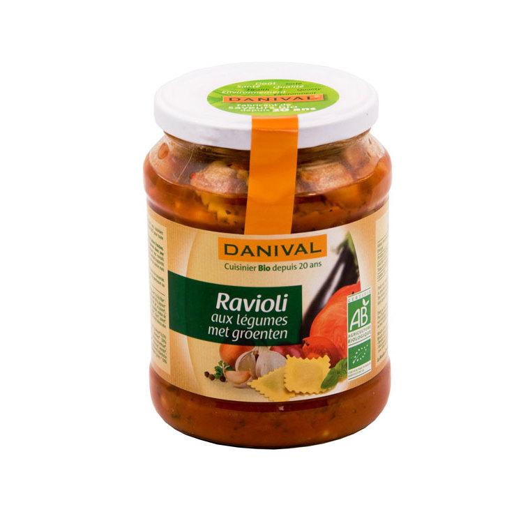 Raviolis aux légumes DANIVAL 670 g 355165