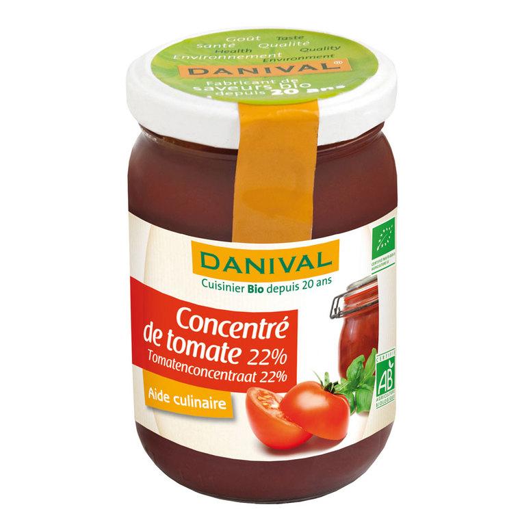 Concentré de tomate 22% DANIVAL 200 g 355181