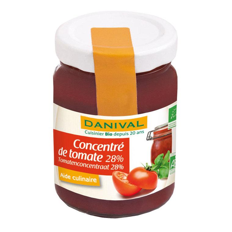 Concentré de tomate 28% DANIVAL 100 g 355183