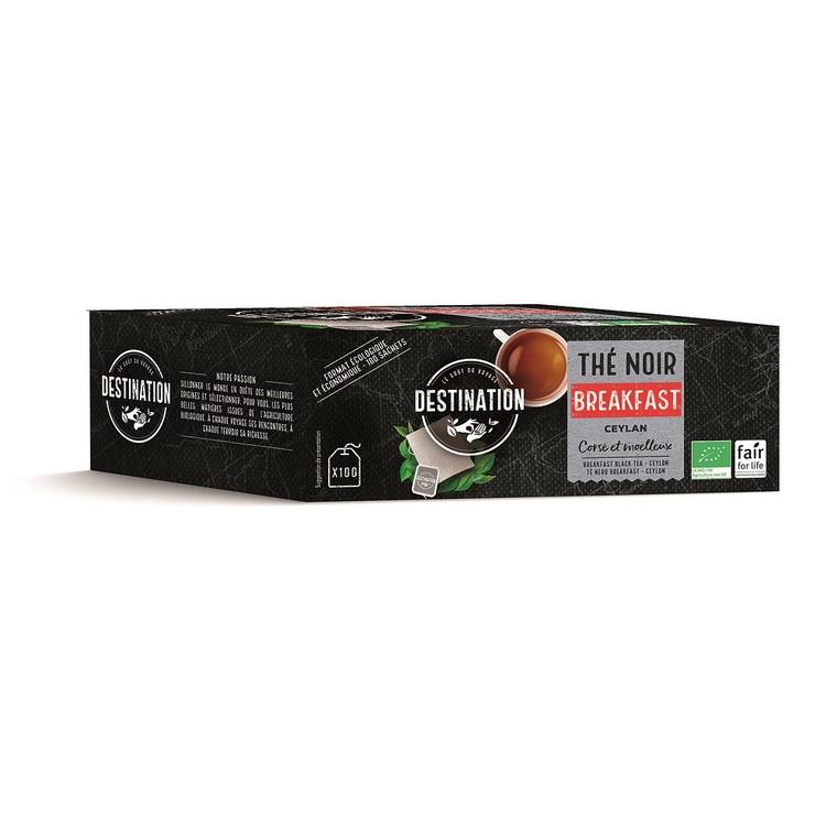 Thé noir breakfast 100 infusettes 200 g 355365