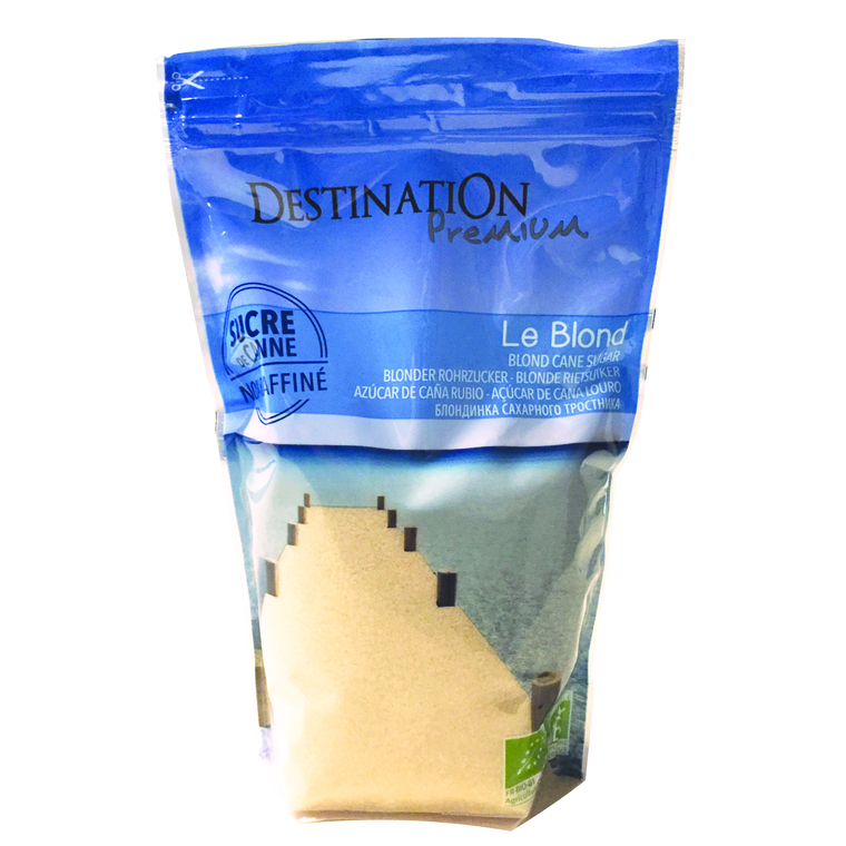 Sucre de canne blond Destination 1 kg 355393