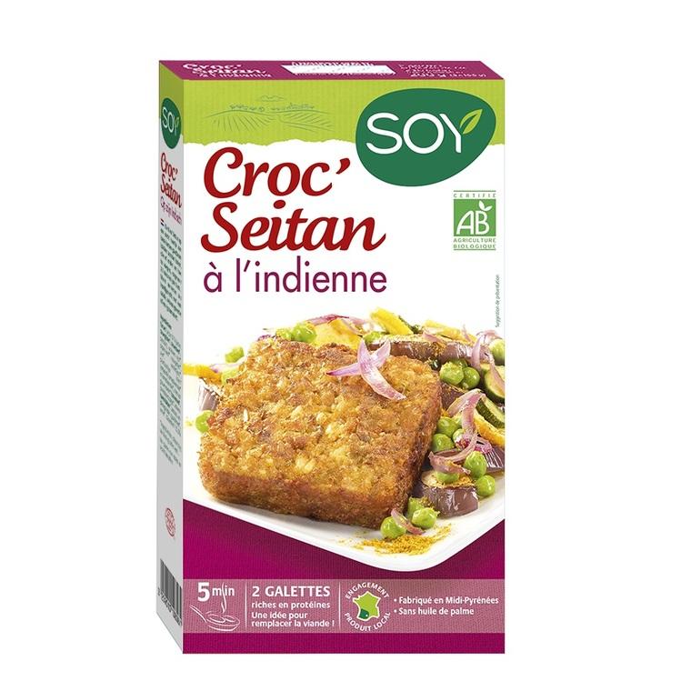Croc'seitan à l'indienne bio 200 g 355432