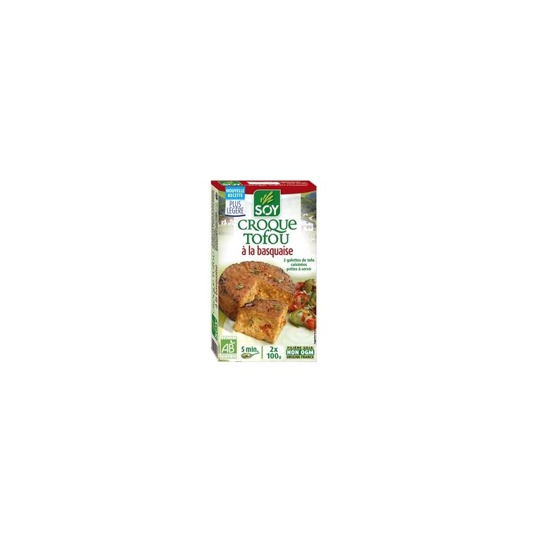 Croque tofou aux poivrons et brebis au piment d'Espelette bio 200 g 355443