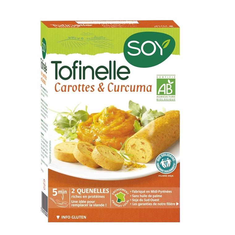 Tofinelles aux carottes et curcuma bio 200 g 355455