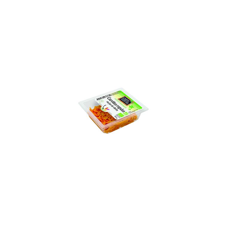 Carottes fraîches râpées 160 g 355608