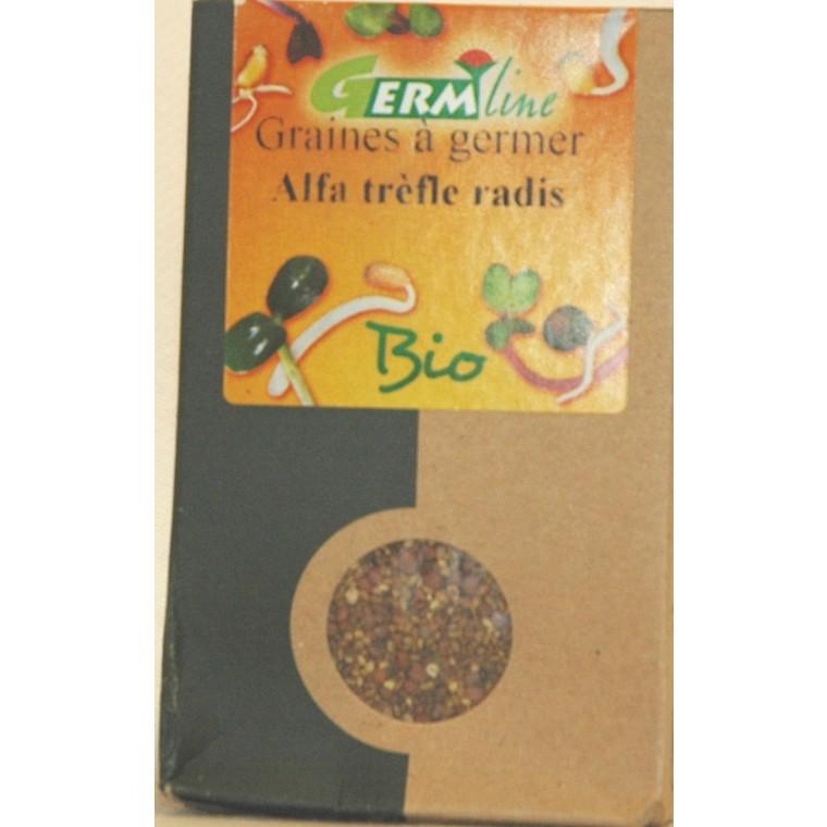 Graines à germer bio alfa, trèfle, radis - 150 g 355652