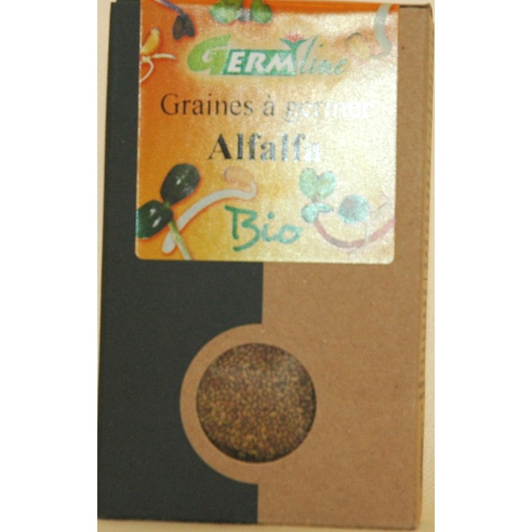 Graines à germer bio alfalfa - 150 g 355653