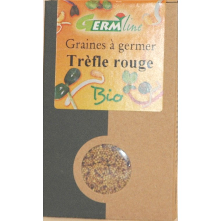 Graines à germer bio trèfle rouge - 150 g 355659