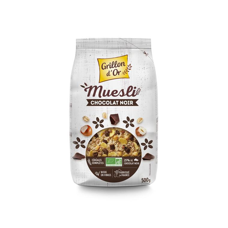 Muesli chocolat noisette bio GRILLON D'OR