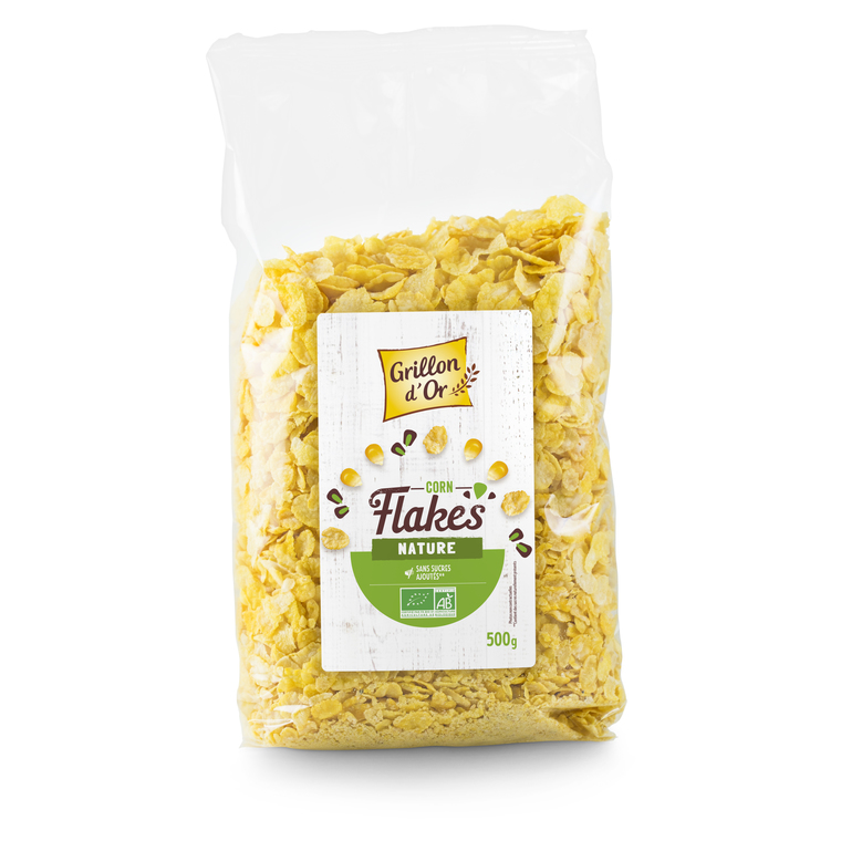 Corn flakes nature bio 500 g 356068
