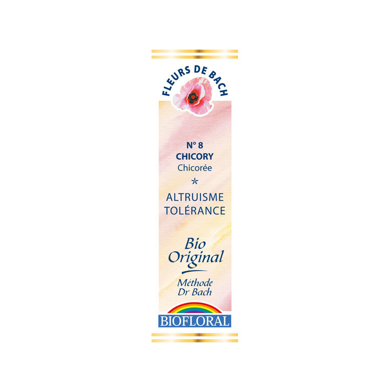Élixir n°8 Biofloral de chicorée en flacon de 20 ml 356125