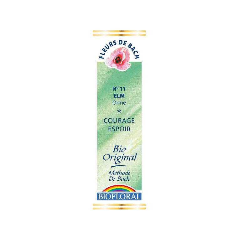 Élixir n°11 Biofloral d'orme en flacon de 20 ml 356128