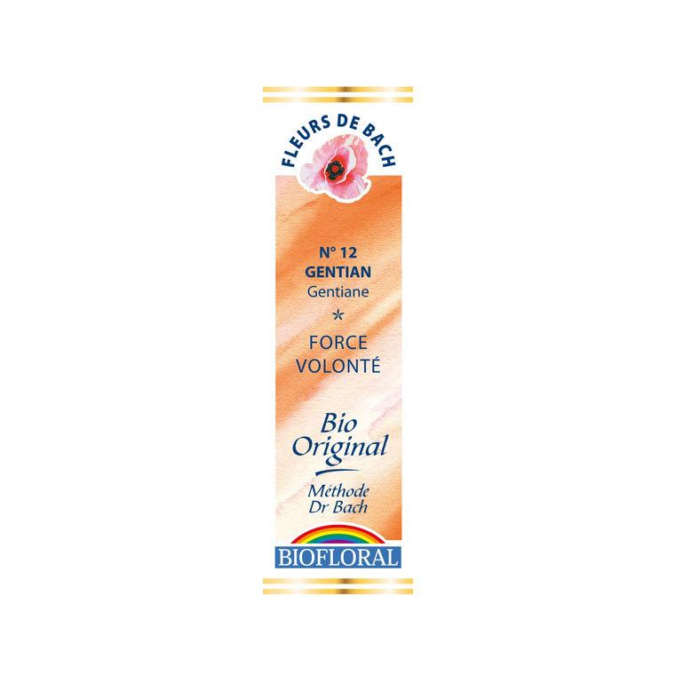 Élixir n°12 Biofloral de gentiane en flacon de 20 ml 356129