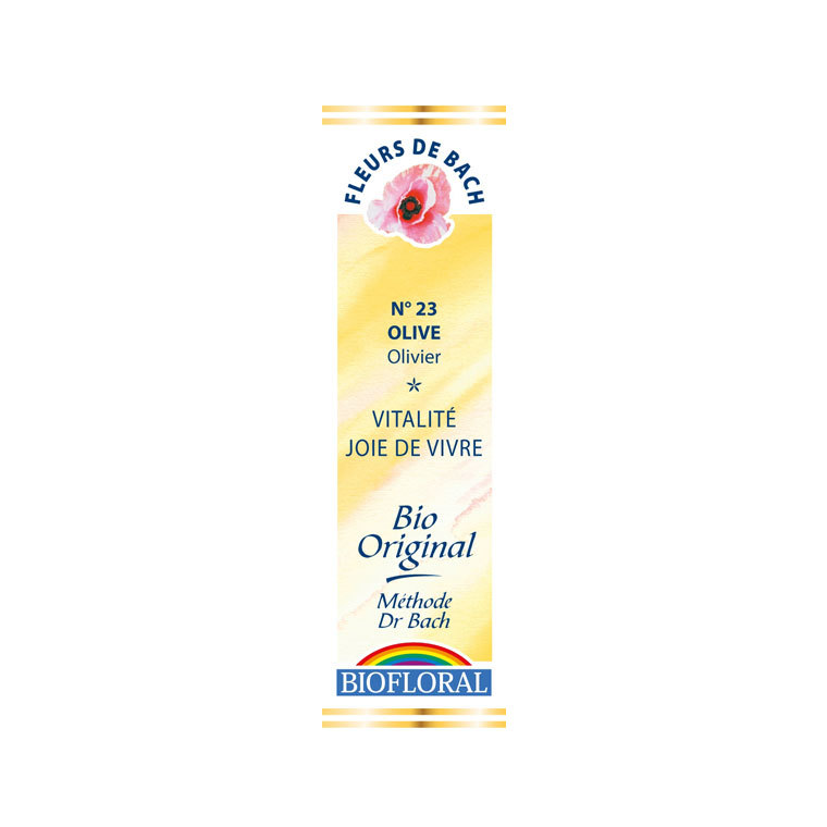Élixir n°23 Biofloral d'olivier en flacon de 20 ml 356140