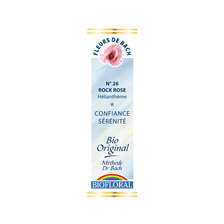 Élixir n°26 Biofloral d'hélianthème en flacon de 20 ml 356143