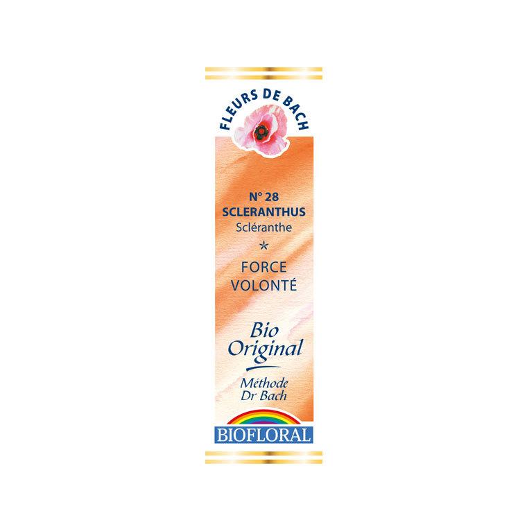 Élixir n°28 Biofloral de scléranthe en flacon de 20 ml 356145