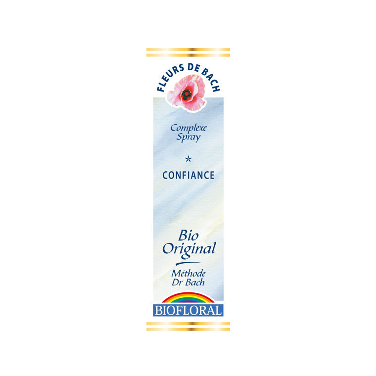 Complexe n°6 Biofloral confiance en spray de 20 ml 356165