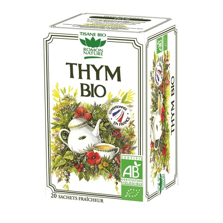 Infusion thym bio 34 g
