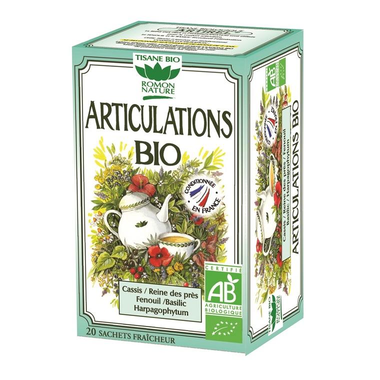 Infusion Articulations bio - boîte de 24 sachets 356188