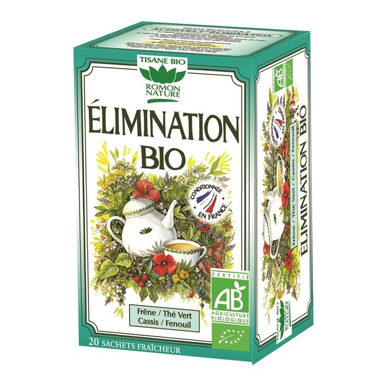 Thé Élimination bio 32 g 356199